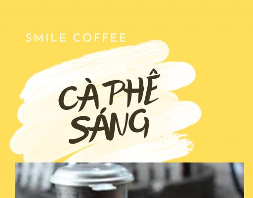 Ly cà phê buổi sáng đẹp tuyệt vời tại Biên Hòa