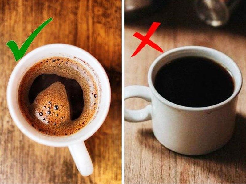 Cách phân biệt cà phê thật và giả